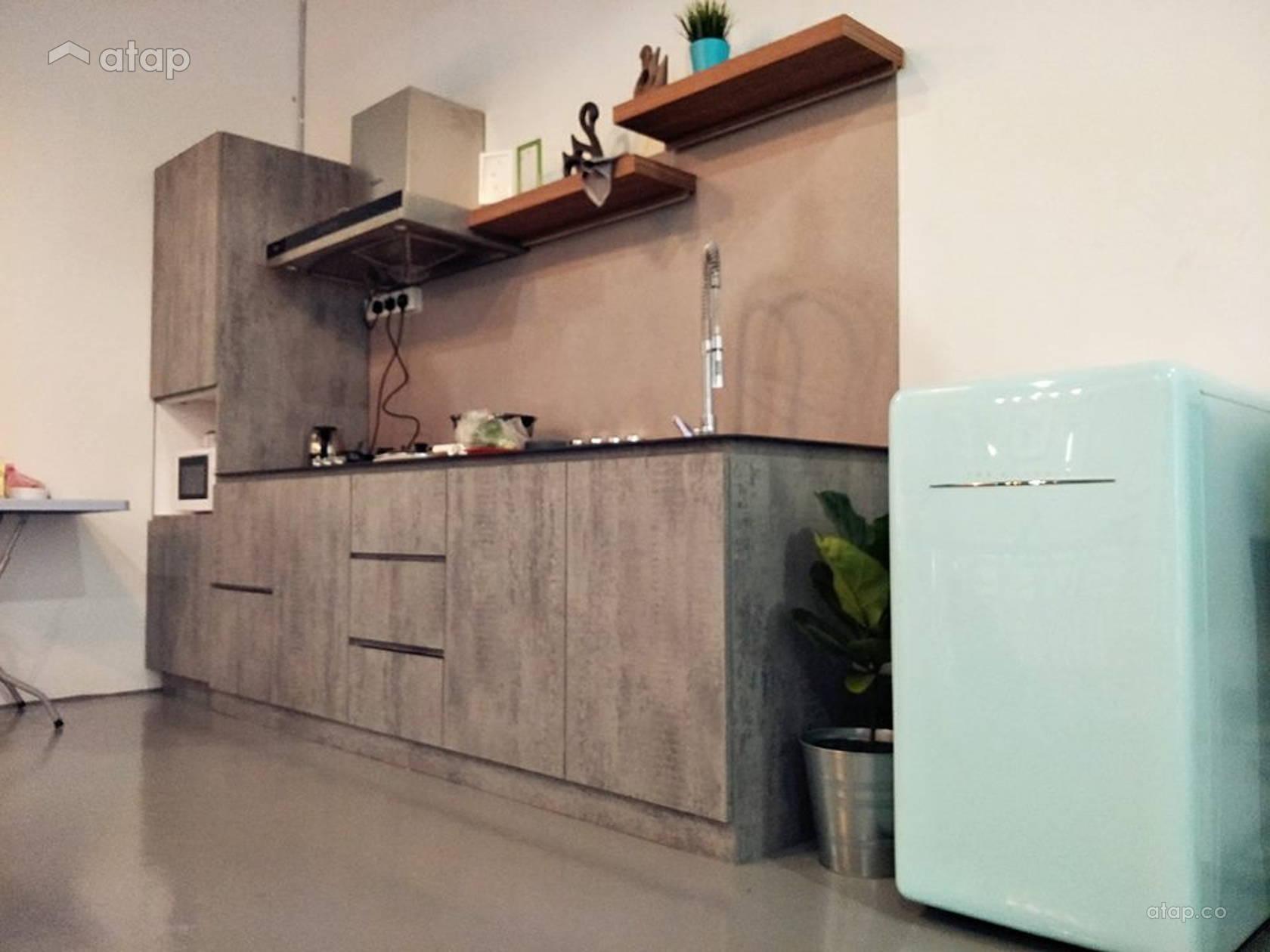 Industrial Rustic Kitchen @ Minimalist Grayish Share This Professional