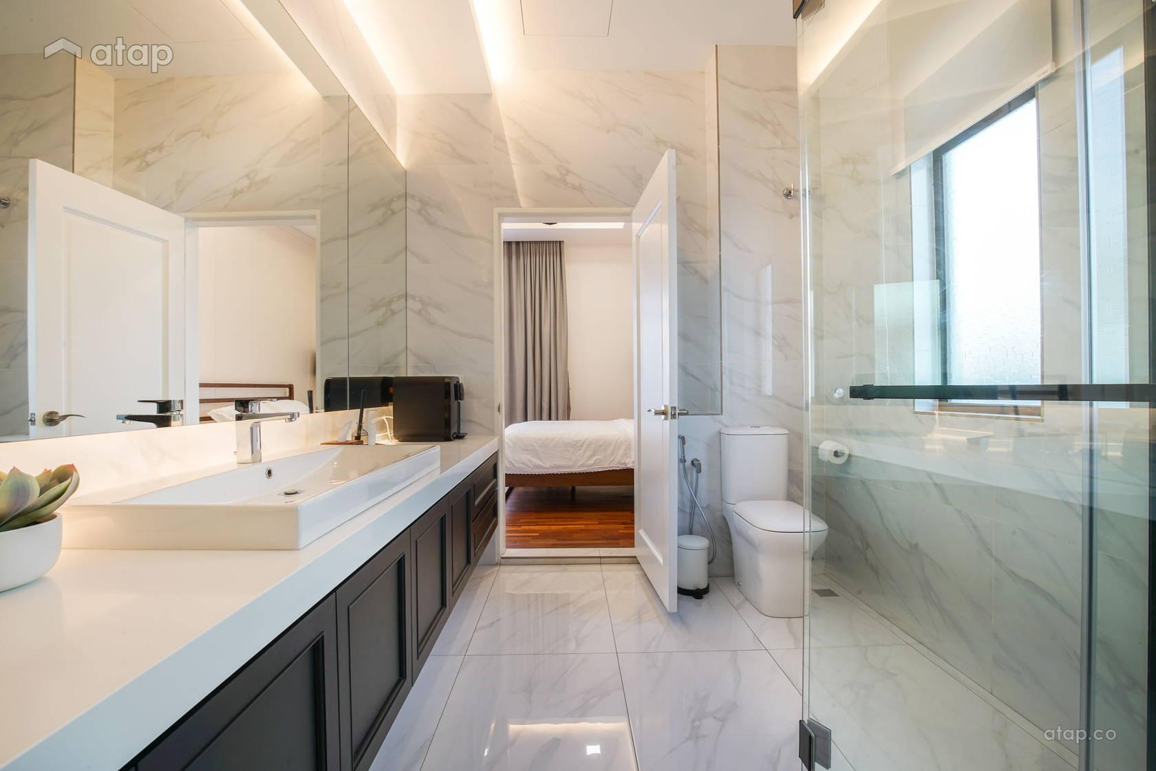 Classic Minimalistic Bathroom @ Setia Alam Residence