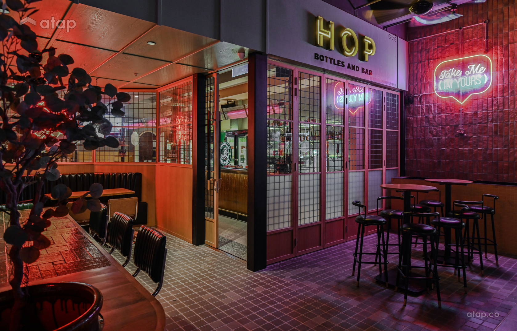 Retro Rustic F&B @ Hop Beer Bar