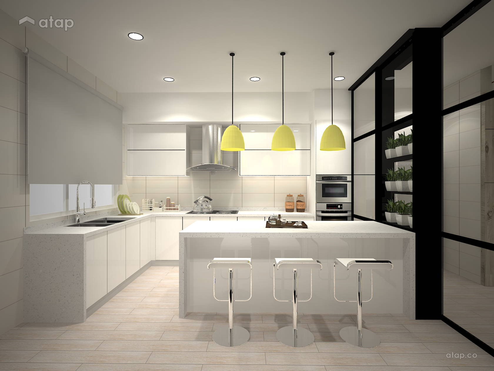 Contemporary Kitchen @ Pelangi Semenyih 2