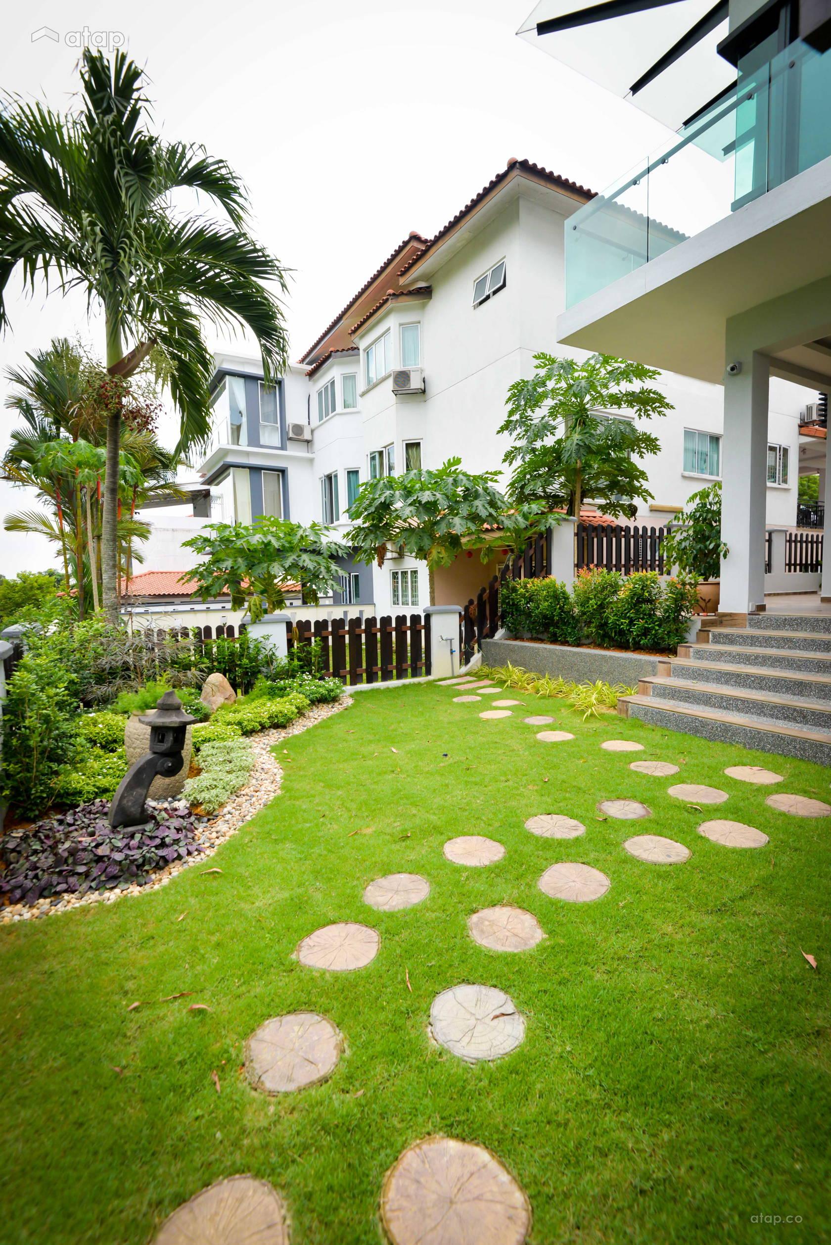 Modern Garden @ Semi-D at Bukit Segar