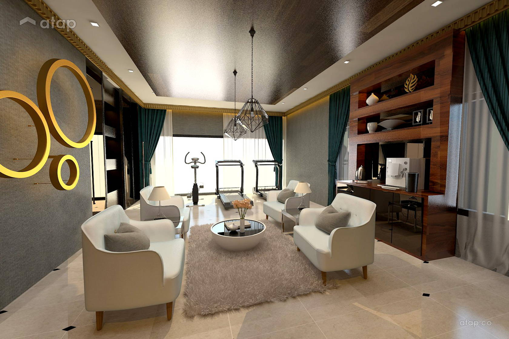 Taman Indah Mewah semi-D architectural & interior design renovation ...