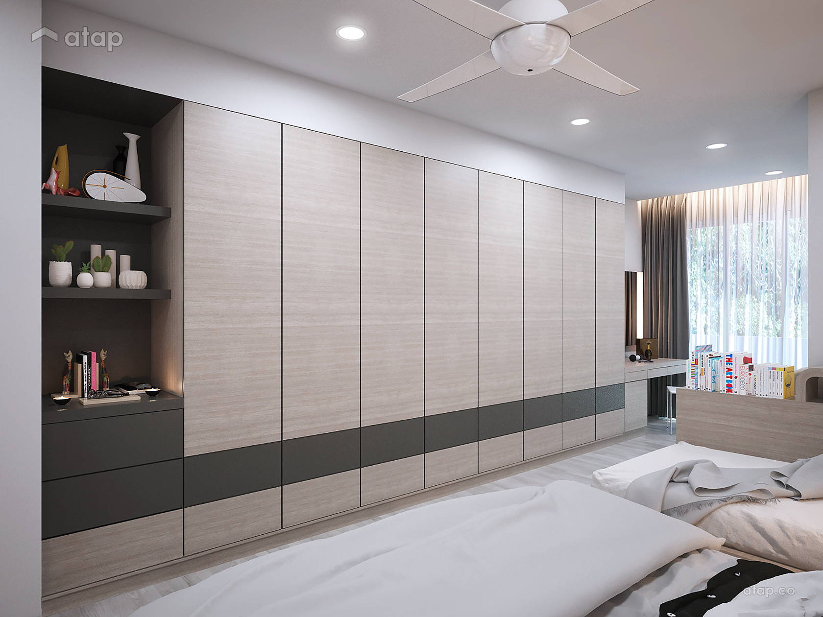 Contemporary Modern Bedroom Terrace Design Ideas Photos Malaysia
