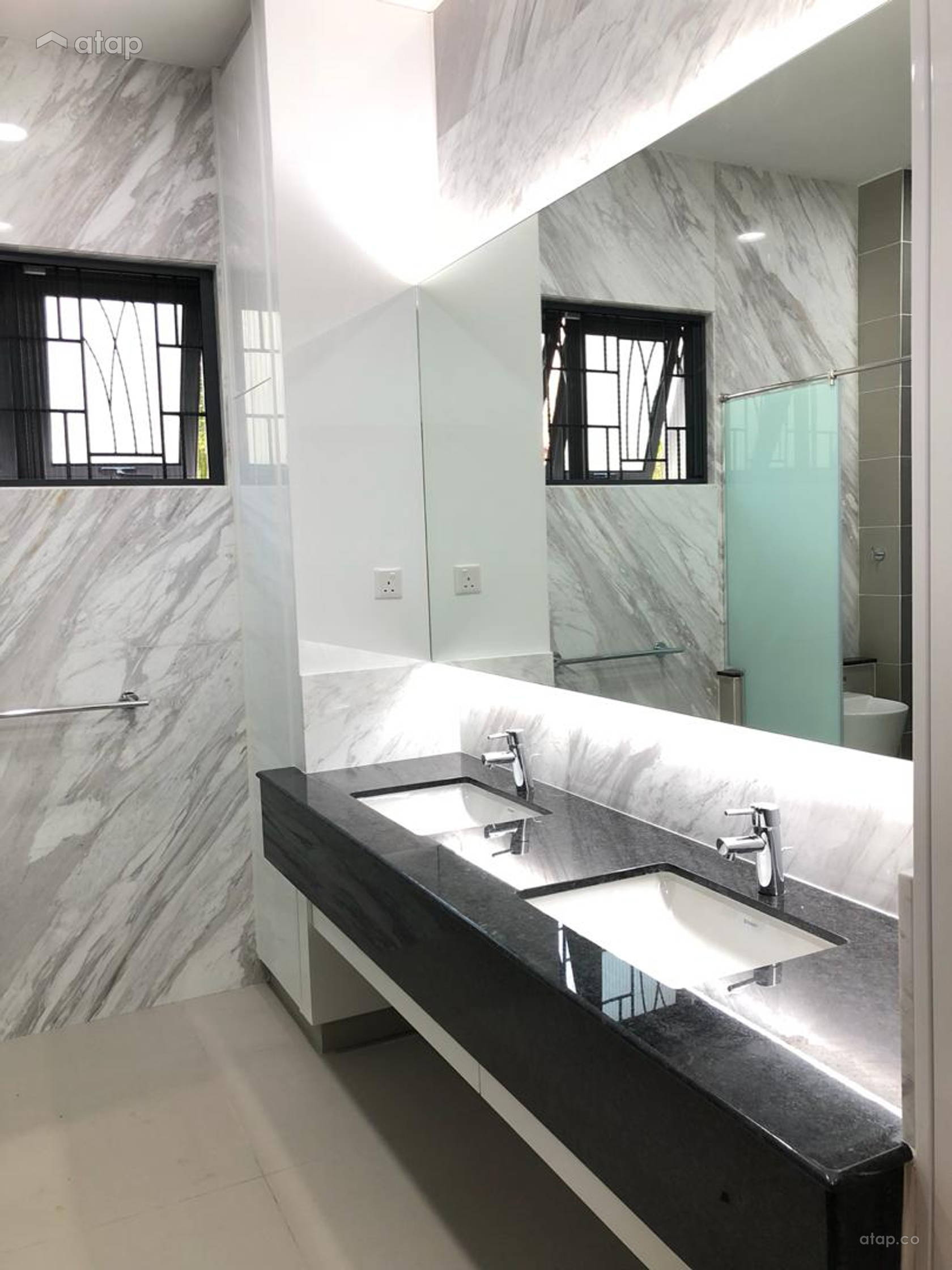 Classic Modern Bathroom Bungalow Design Ideas Photos Malaysia Atap Co,Types Of House Interior Designs