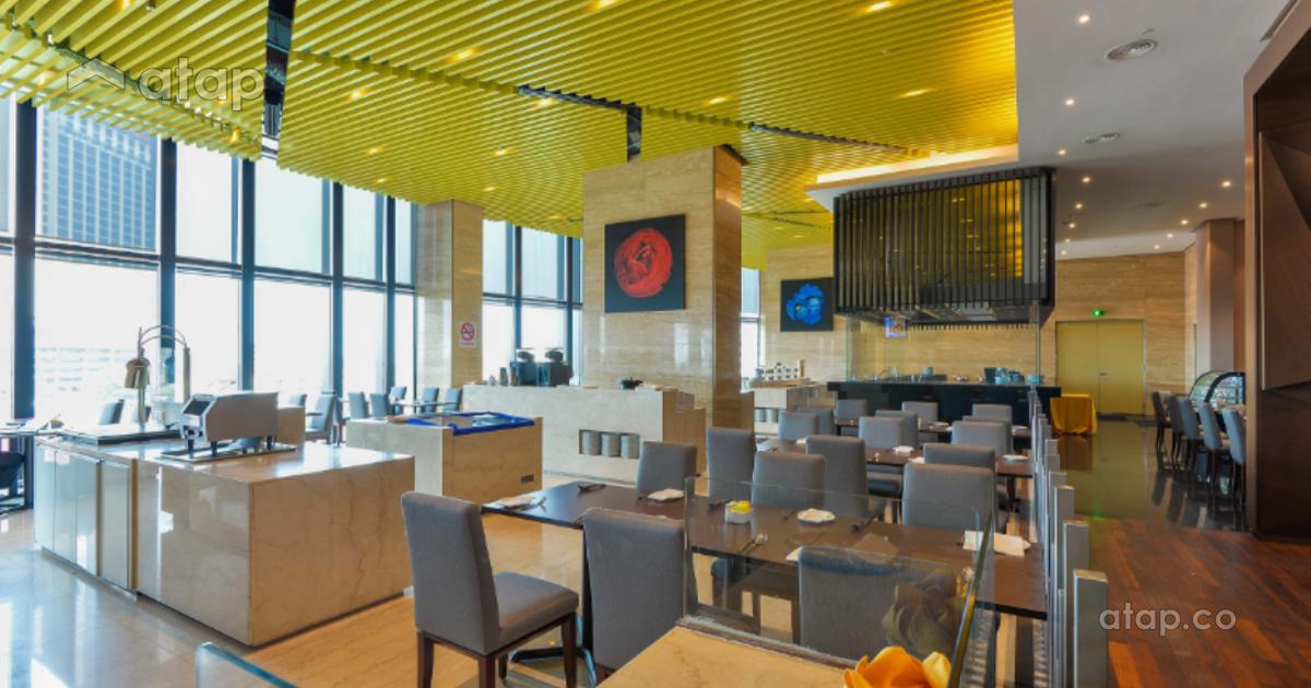 Malaysia beige contemporary architectural interior for Balcony 52 melaka