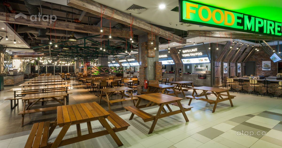 Mytown Shopping Mall Food Empire Food Court Interior