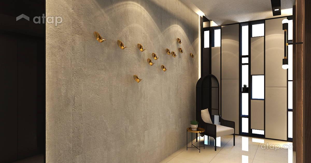 Contemporary Foyer Quotes : Contemporary modern foyer condominium design ideas