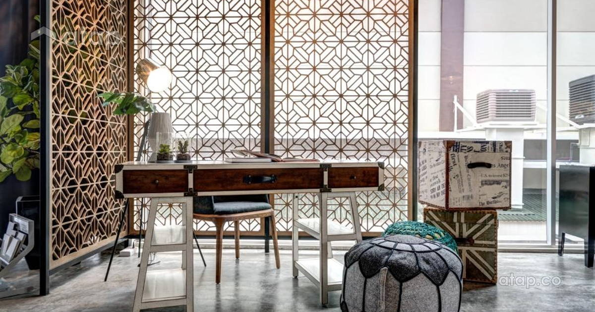 Malaysia study room architectural interior design ideas for Balcony 52 melaka