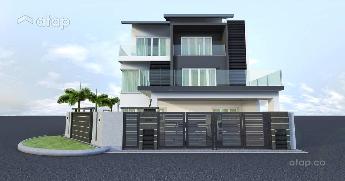 Malaysia minimalistic balcony architectural interior for Balcony design ideas malaysia
