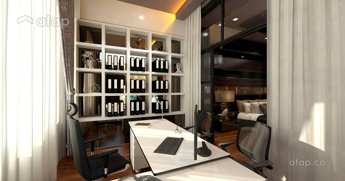 Malaysia Purple Study Room architectural & interior design ideas in ...