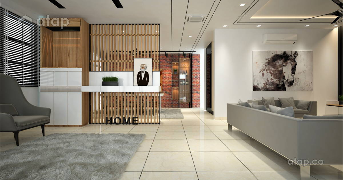 Malaysia foyer architectural interior design ideas in for Home design johor bahru