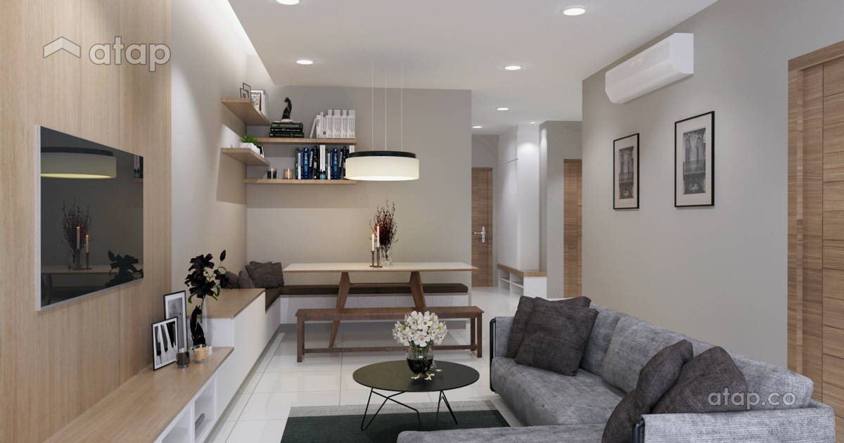 living room condominium design ideas  u0026 photos malaysia