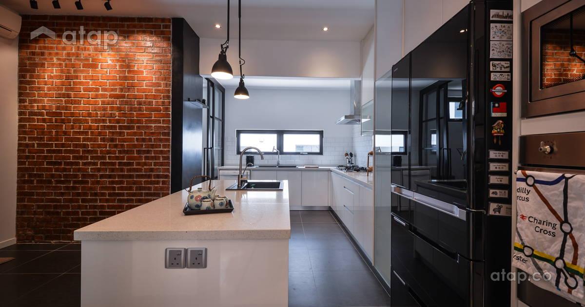 modern kitchen terrace design ideas