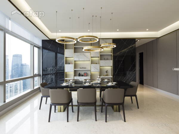 Contemporary Modern Dining Room@Banyan Tree Signatures