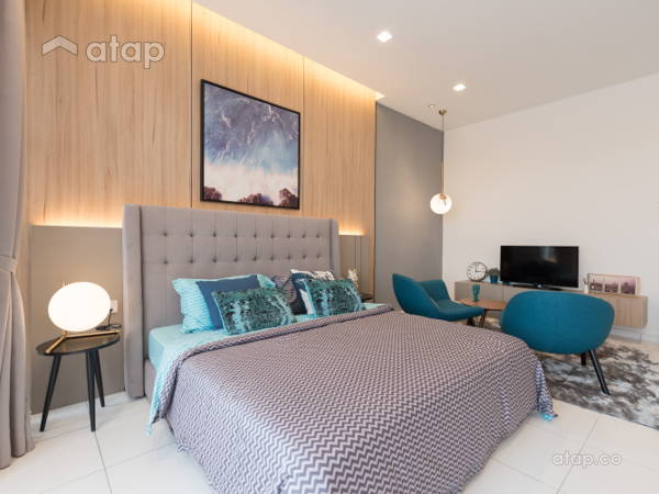 Contemporary Scandinavian Bedroom Acacia 3B Show Unit For Lowyat Group