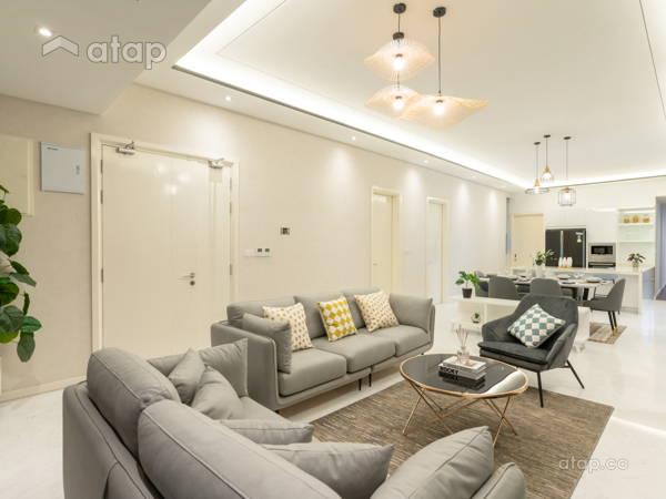 Modern Kitchen Living Room@Setia V Residence Type 23A-02