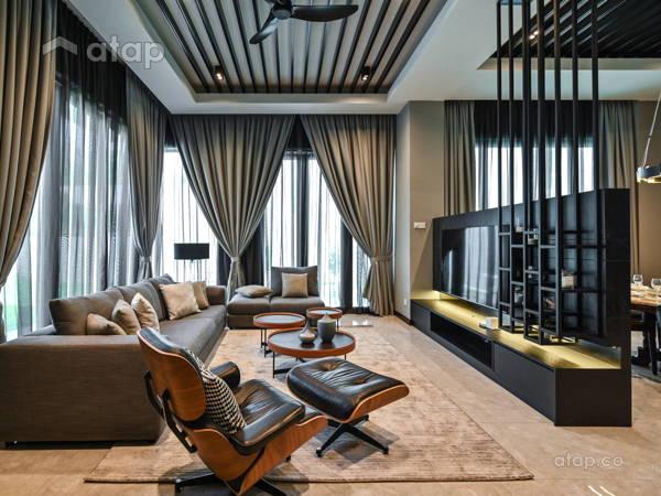 Modern Living Room@Casa Sutra Setia Alam