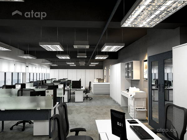 Contemporary Industrial Office @ Factory Office@Rawang ...