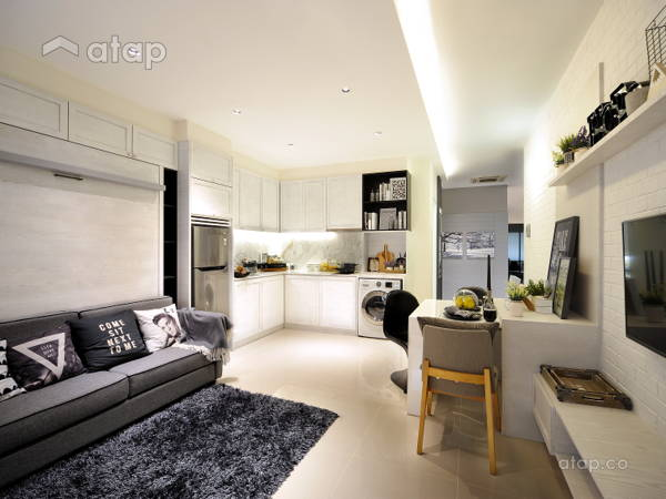 Minimalistic Modern Living Room@HighPark Studio A3