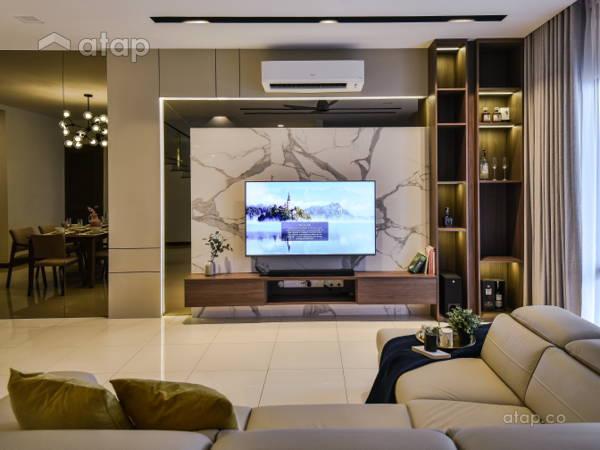 Contemporary Modern Living Room@Terraza Eco Sanctuary