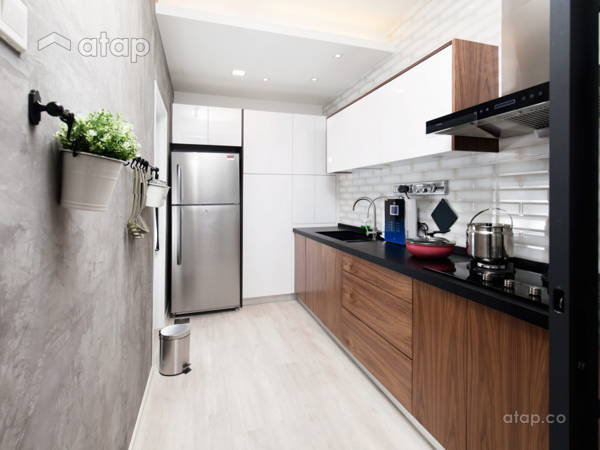 Contemporary Modern Kitchen@Mr. Wong's House - Flora Residensi, Seri Kembangan