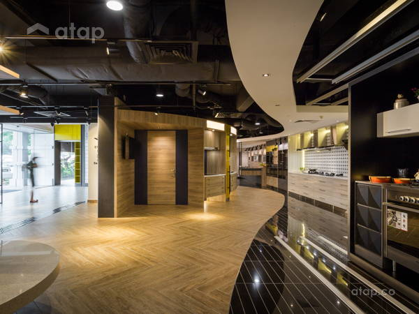 Modern Retro Dining Room Retail@MAKE HISTORY YOUR MUSE- Beaufix Showroom, Kota Damansara