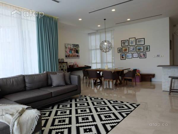 Modern Living Room@Modern Industrial Condo