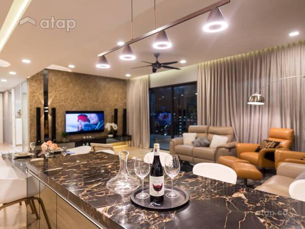 Modern Living Room@Cozy Interior @ Five Stones