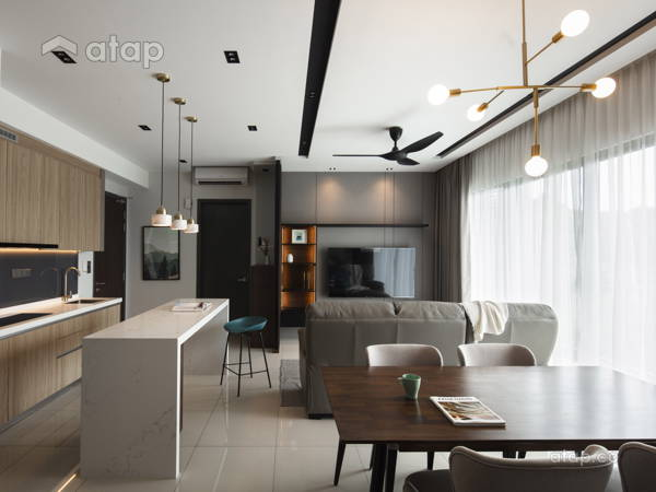 Modern Kitchen Living Room@Project Sunway Mont