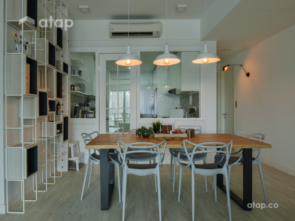 Scandinavian Dining Room@KL Sky Residences