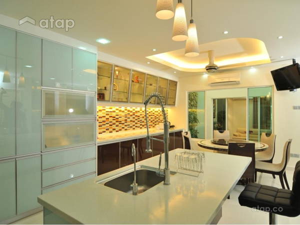 Contemporary Modern Kitchen Dining Room@Bukit Jalil