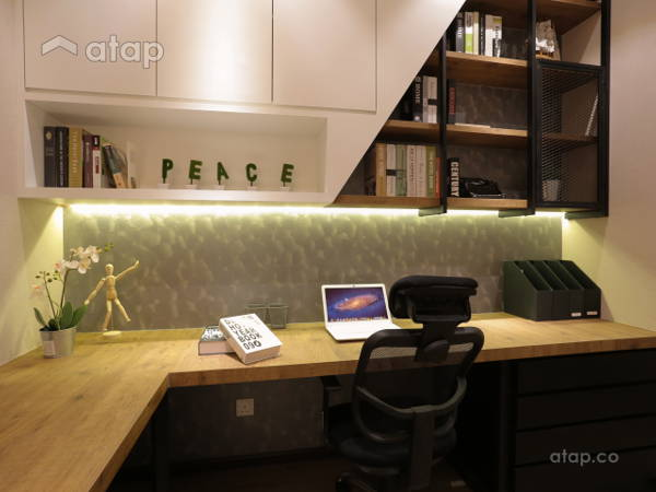 Malaysia Others Retro Study Room architectural interior design