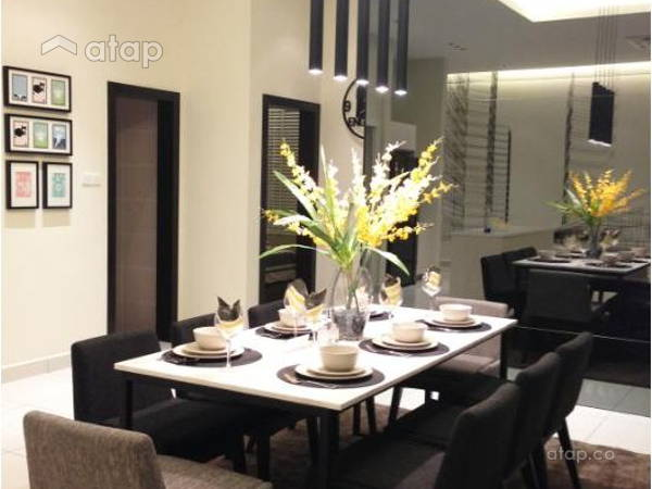 Contemporary Modern Dining Room@Adda Heights Show Unit (3B)