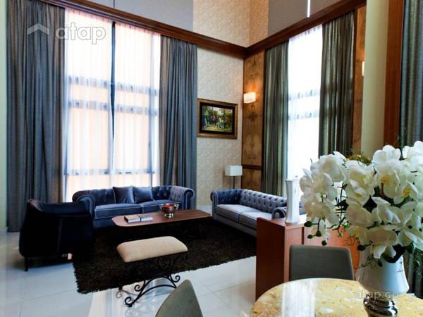547 Malaysia Black Living Room Architect Interior Designer Ideas In