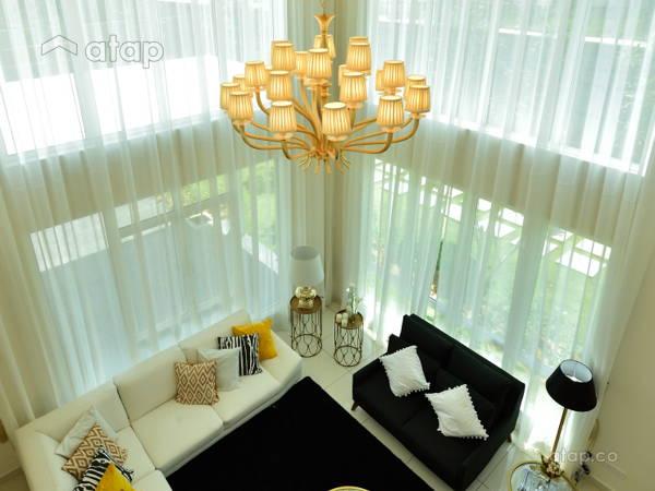 Classic Modern Living Room@Serene Residence Rawang RT1