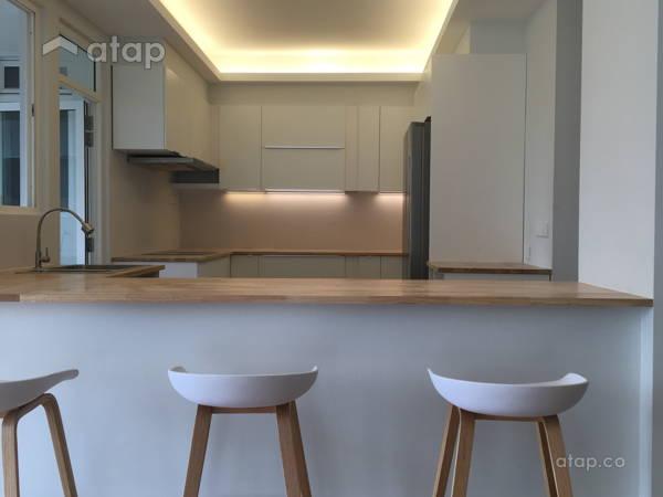 Minimalistic Zen Dining Room Kitchen@ZEN