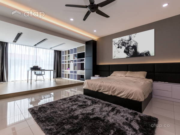 Contemporary Scandinavian Bedroom Study Room@Kota Tinggi