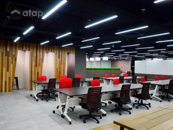 Rustic Scandinavian Office Sunway ILabs Flexible Working Space