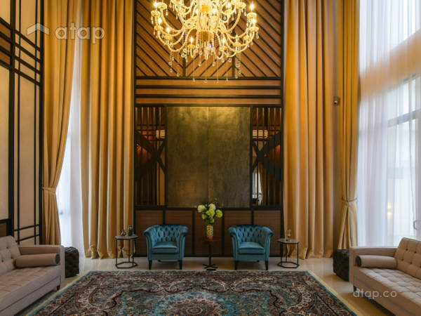 Classic Modern Living Room@Twin Palms