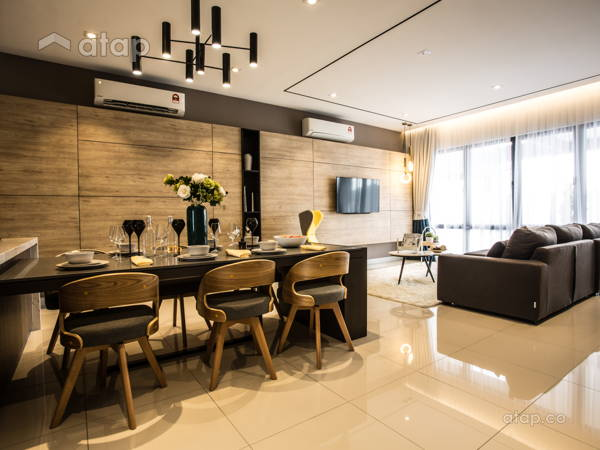 Contemporary Modern Living Room@Hampton Residences, Bandar Seri Coalfields