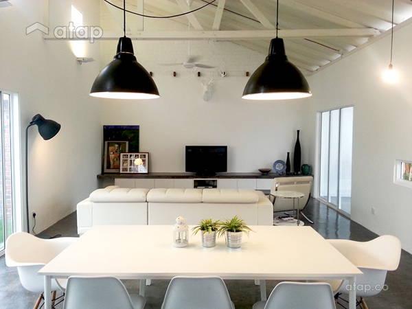 Industrial Dining Room Living Room@LOO RESIDENCE
