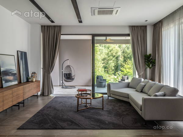 Contemporary Modern Family Room@Earl of East