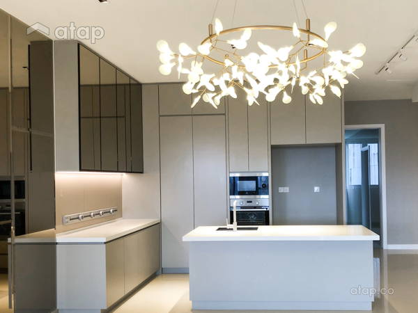 Contemporary Modern Dining Room Kitchen@Pavilion Hilltop