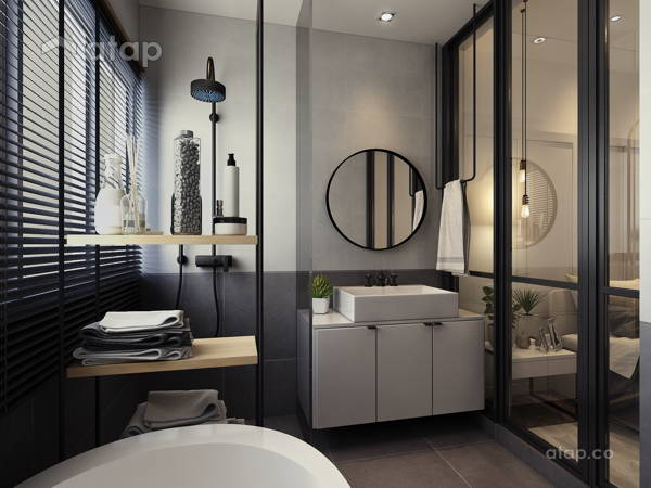 Scandinavian Design Bathroom: Malaysia Scandinavian Bathroom Architectural & Interior