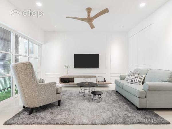 Classic Modern Living Room@Li Villas