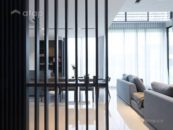 Contemporary Modern Foyer Living Room@Ficus Peak, Denai Alam