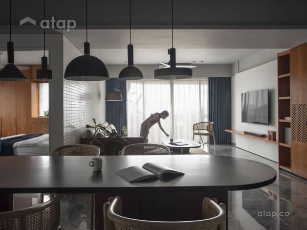 Industrial Modern Dining Room Living Room@ZEST FOR LIFE - Ttdi, Kuala lumpur
