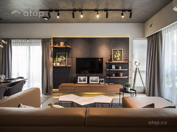 Industrial Modern Living Room@BACCAS Show Unit, Setia Eco Hill