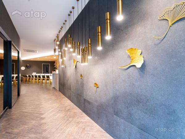 Contemporary Minimalistic F&B Foyer@Hagi restaurant