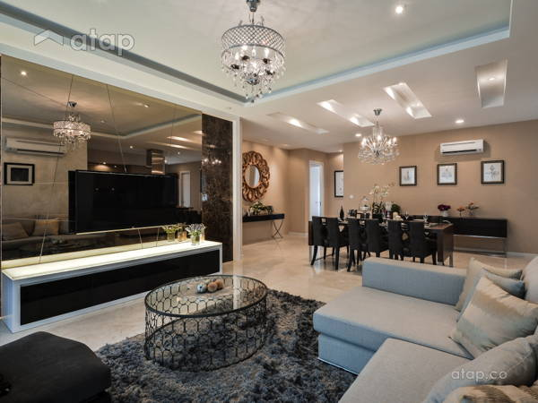 Modern Living Room@Concerto Mon't Kiara